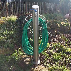 Edelstahl Wasserzapfstelle,Zapfsäule,Gartenzapfstelle,Wassersäule handgefertigt | eBay