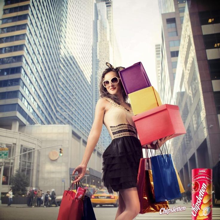 Nic tak nie poprawia humoru jak udane zakupy! ;)  Zgadzasz się?    #travel #relax #chipsletten #snack #pepper #shopping