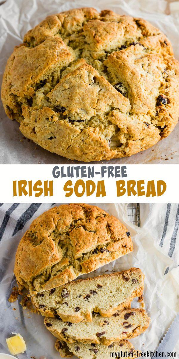 Gluten Free Irish Soda Bread Recipe In 2020 Gluten Free Irish Soda Bread Irish Soda Bread Gluten Free Soda Bread