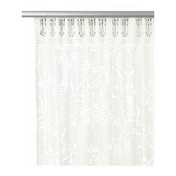 BORGHILD Sheer curtains, 1 pair - IKEA