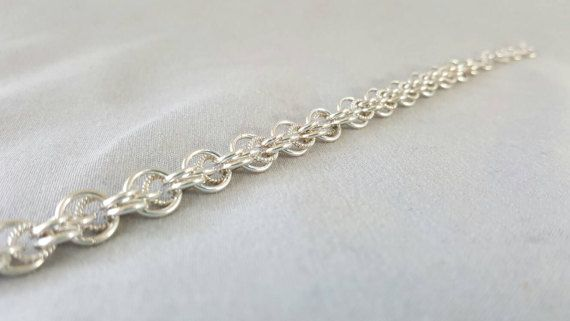 Check out this item in my Etsy shop https://www.etsy.com/ca/listing/490692883/sterling-silver-womens-bracelet-dainty