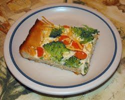 "Gluten Free ""Crescent Roll"" Cold Veggie Pizza...making for Pie-Day Friday at work!"