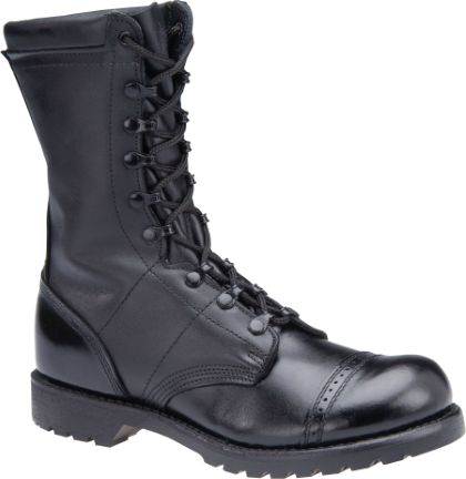 """Womens 10"""" Leather Field Boot - Black"""