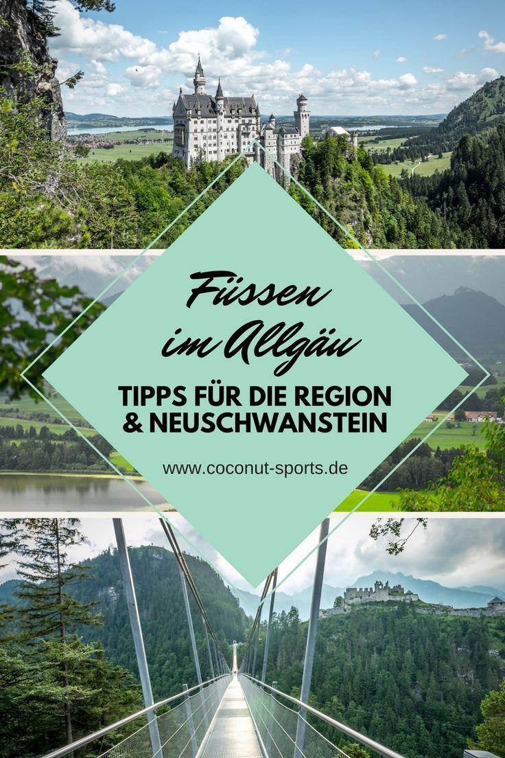 Fussen Im Allgau Neuschwanstein Mountainbiken Wandern Und Mehr In 2020 Reisefotografie Allgau Urlaub Seilbahn Fahren