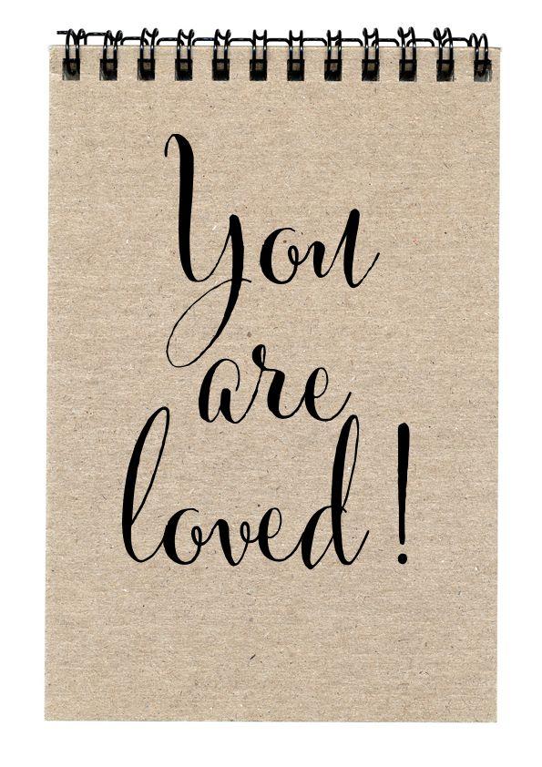 You are loved – Ilmainen ystävänpäiväkortti
