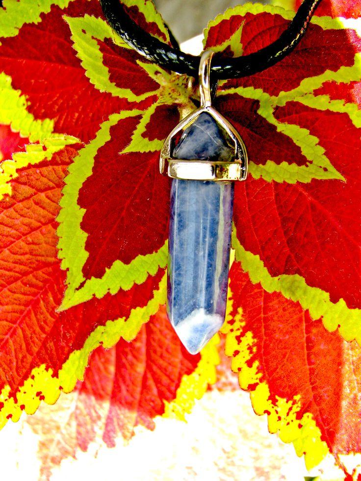 Excited to share the latest addition to my #etsy shop: blue quartz crystal choker, hexagonal quartz choker, blue spot jasper necklace http://etsy.me/2HgTTRT #jewellery #necklace #gemstonecrystal #amethystgemstone #quartzpoint #quartzcrystal #pointpendant #chakras #thir