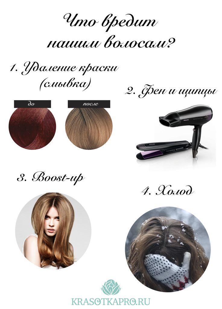 Что вредит нашим волосам? Старайтесь избегать неблагоприятных для волос процедур и в холодное время держите голову в тепле! А для укладки используйте сильную термозащиту http://www.krasotkapro.ru/catalog/sprey_dlya_ukladki_volos_/sexy_hair_sprey_dlya_termozashchity_sredney_fiksatsii_7_4_150_ml/. Top tips & beauty hacks by KrasotkaPro. #Красивые #Густые #Длинные #Волосы