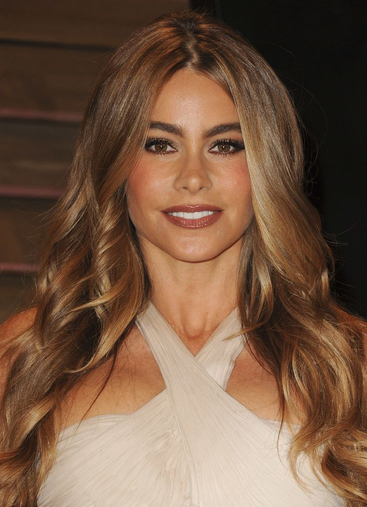 Sofia Vergara at Vanity Fair Party | Celebrities on the Red Carpet | Pinterest | Hair, Sofia vergara hair and Hair Color