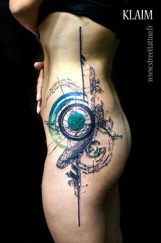 New Klaim tattoo @ streettattoo.fr