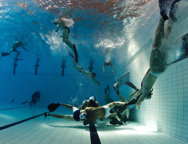 The 9th CMAS Underwater Rugby World Championships Photo By: Marcu Bjuren