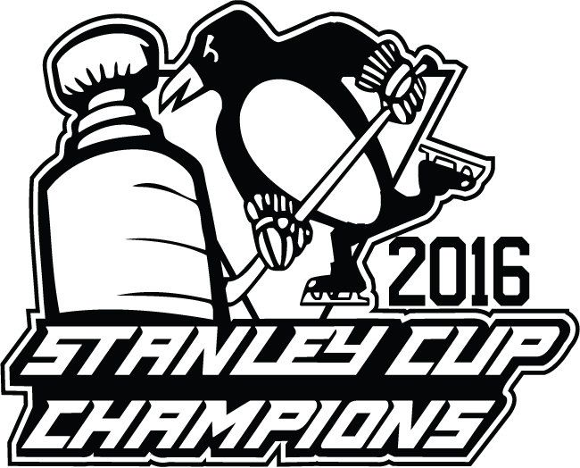2016 pittsburgh penguins stanley cup champs vinyl decal 5x5 by signsofaggression on etsy