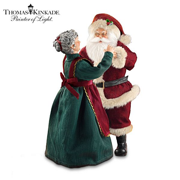 Best thomas kinkade santas images on pinterest santa