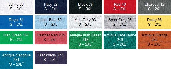Gildan 5000 T-shirts (Unisex) http://www.mabuzi.com/gildan-t-shirt-colour-range.html