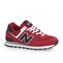 Comprar Tienda Espa a New Balance Ml574 rojo hombres zapatillas Outlet baratas