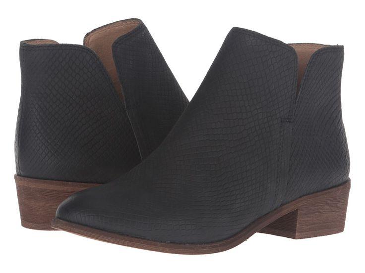 SPLENDID SPLENDID - HAMPTYN (BLACK EMBOSSED SNAKE NUBUCK) WOMEN'S SHOES. #splendid #shoes #