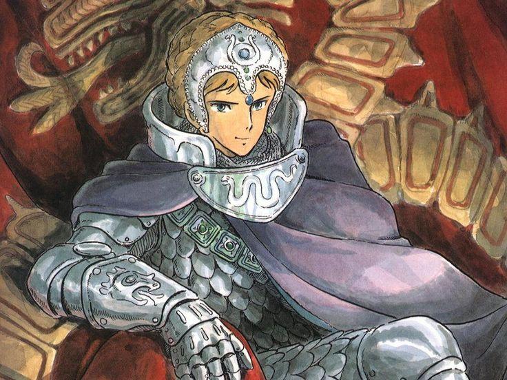 クシャナ Kushana (princess of the Torumekian Empire) from 風の谷のナウシカ Nausicaä of the Valley of the Wind