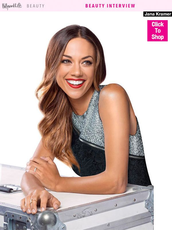 Jana Kramer has a good thing going. A successful country music career, a gorgeous husband and a baby on the way! She revealed her beauty must-haves exclusively to HollywoodLife.com before she hits the CMA Awards red carpet on Nov. 4!