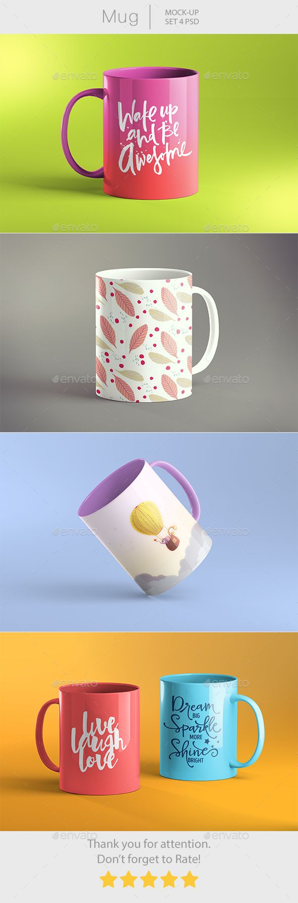 Mug #Mockup - Food and Drink Packaging Download here: https://graphicriver.net/item/mug-mockup/19577927?ref=alena994