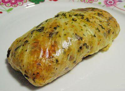 Pacotinhos de Repolho Recheados com Quinua, Tomate-Cereja e Shitake (vegana)