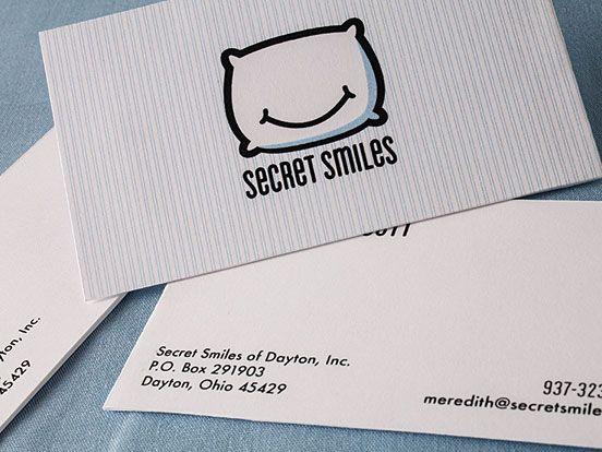 Secret Smiles Business Cards