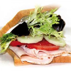 Sandwich met kalkoenfilet #PowerSlim #Fase1 #Healthyfood