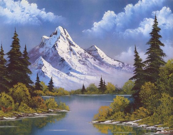 Explore The Beauty Of Caribbean: Top 25+ Best Bob Ross Paintings Ideas On Pinterest