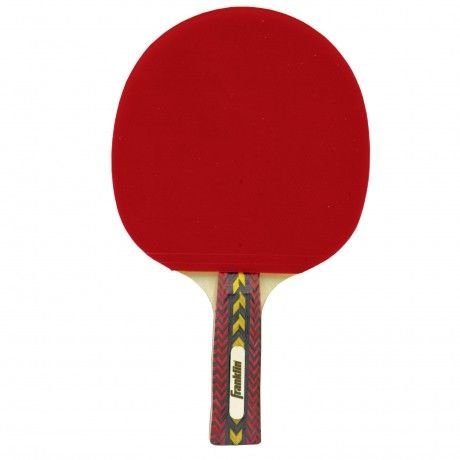 Armada Table Tennis Paddle - This paddle features a 5-ply select hardwood laminate blade, a hollow core performance handle 2.0mm sponge backing, stained wood inlays, and pips-in rubber for peak performance. - See more at: http://franklinsports.com/shop/armada-table-tennis-paddle