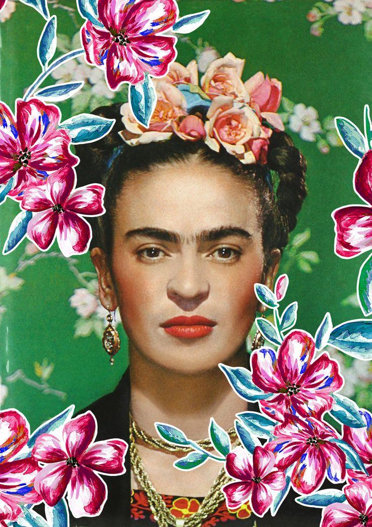 Frida on white bench new york 1939 by nickolas muray for Cuartos decorados de frida kahlo