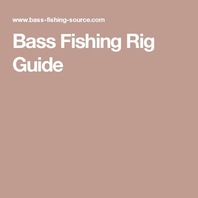 Bass Fishing Rig Guide