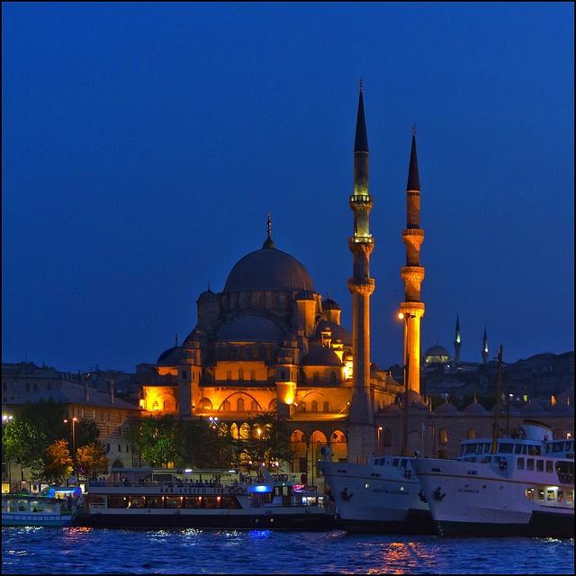 La Mezquita Nueva en Estambul (Turquía), foto de Pilar Azaña, via Flickr