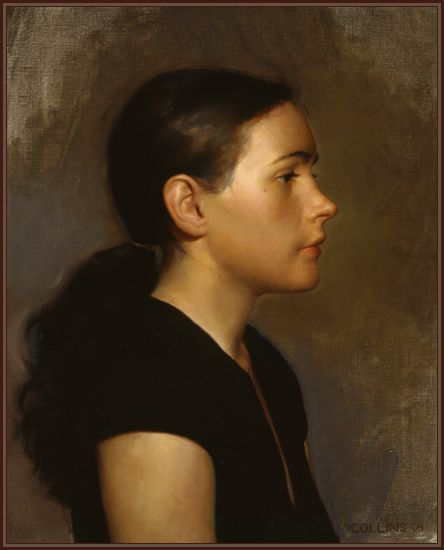 Jacob Collins - Susan | Oil on Canvas | 20'' x 16'' | 2004