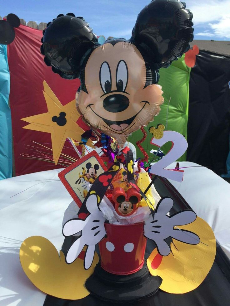 Mickey Mouse Centerpiece                                                                                                                                                      More
