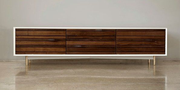credenza speaker | Stereo Cabinet — Shoebox Dwelling | Finding comfort, style and ...