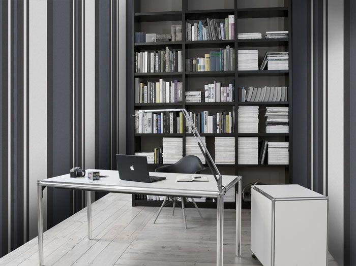 Empapelado rayas anchas verticales papel de parede - Papel pared rayas verticales ...