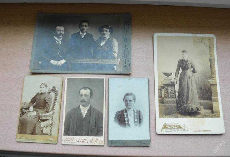 5 x kabinetka - z dob Rakouska Uherska