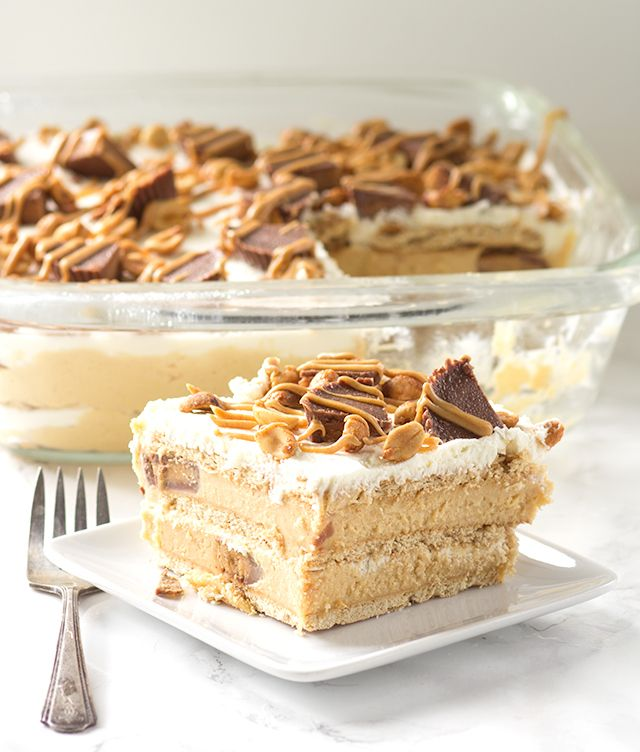 Peanut Butter Ice Box Cake & 30 best images about Sweet Tooth on Pinterest | Icebox cake ... Aboutintivar.Com