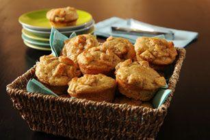 Ces muffins consistants et réconfortants compléteront merveilleusement un déjeuner ou un brunch de fin de semaine.