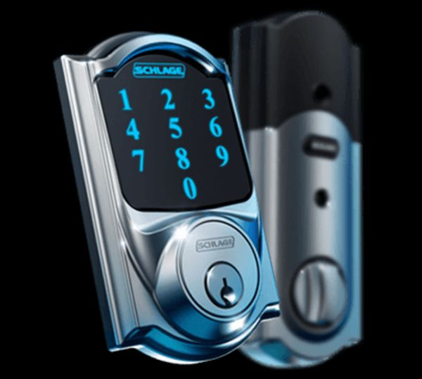 Best Smart Locks To Protect Your Home: August, Goji, Kwikset Kevo, Samsung Digital Door, And More [Fingerprint Door Locks: http://futuristicshop.com/category/fingerprint-door-locks/]