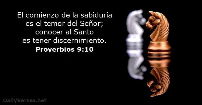 Proverbios 9:10 - dailyverses.net