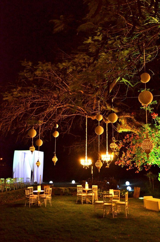 Ambientaci n de eventos y casamientos receptions for Boda en un jardin de noche