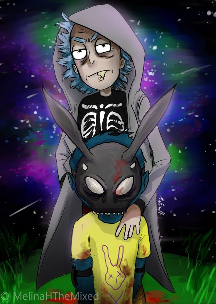 Rick and Morty • Donnie Darko