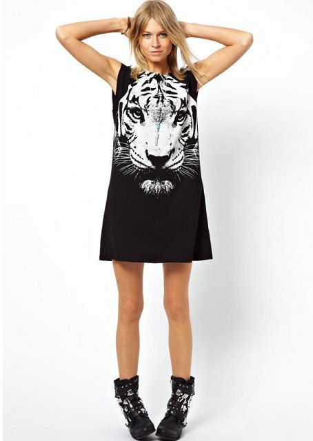 #tiger #dress