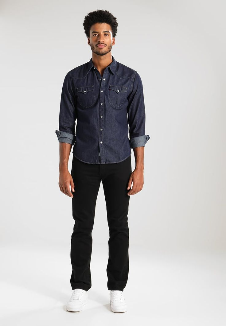 Levi's® BARSTOW WESTERN - Camisa informal - red cast rinse - Zalando.es