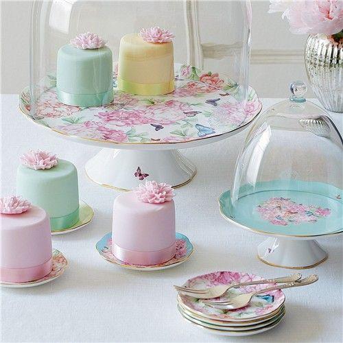 Miranda Kerr for Royal Albert Blessings Cake Stand Small   Stands, Plates & Cooling Racks - House