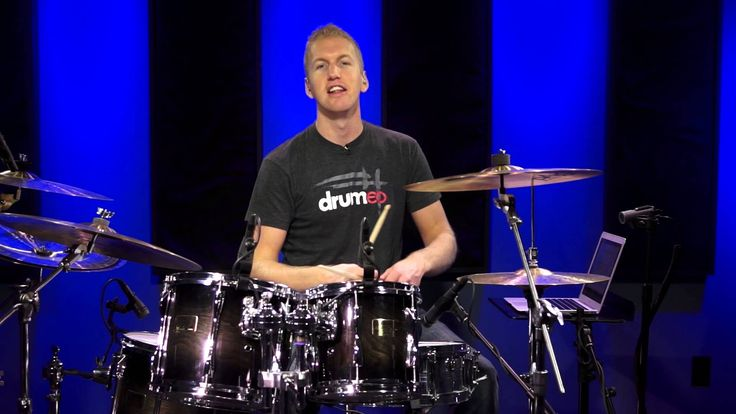 "I like how he puts the notes on the screen so you can follow along. You can still tap along even if you don't have a drum set. ""Your Very First Drum Lesson"" 7 minutes long"
