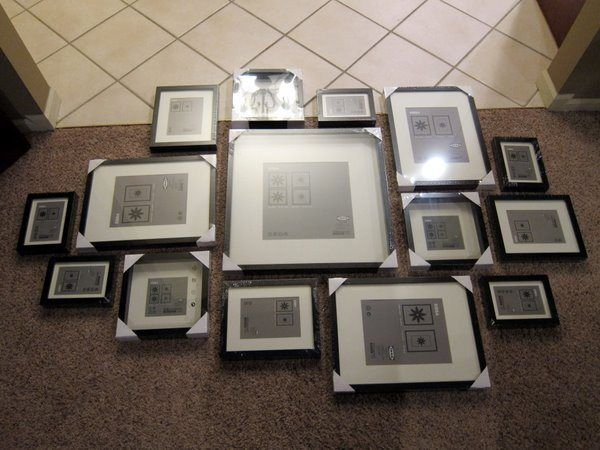 how to ikea ribba frame gallery wall