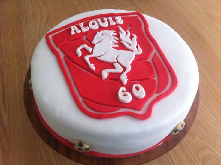 FC Twente taart