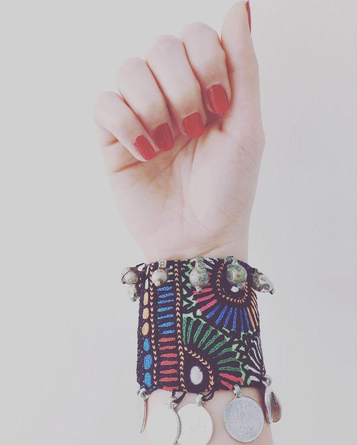 Cuff kind of day  #cuff #embroidered #banjara #bohochic