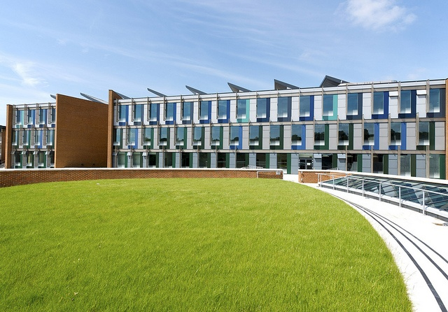 New academic building, June 2012 by University of Sussex, via Flickr