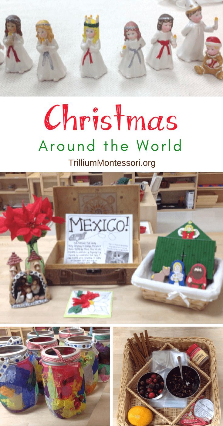 Learning about Christmas around the world